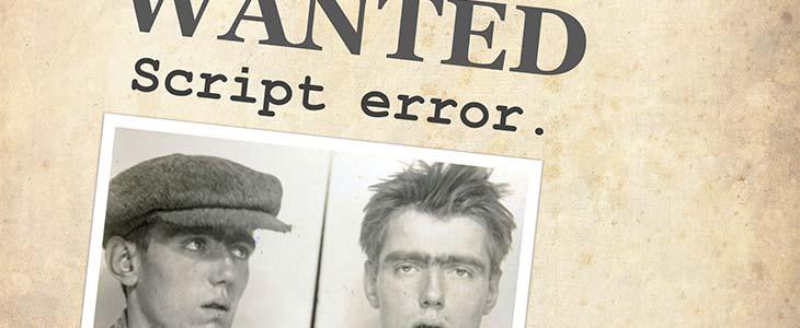 Script Error: JavaScript Forensics