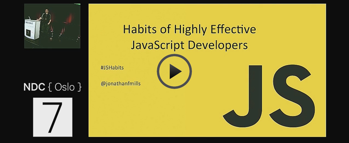 [Video] Highly-Effective JavaScript Developers
