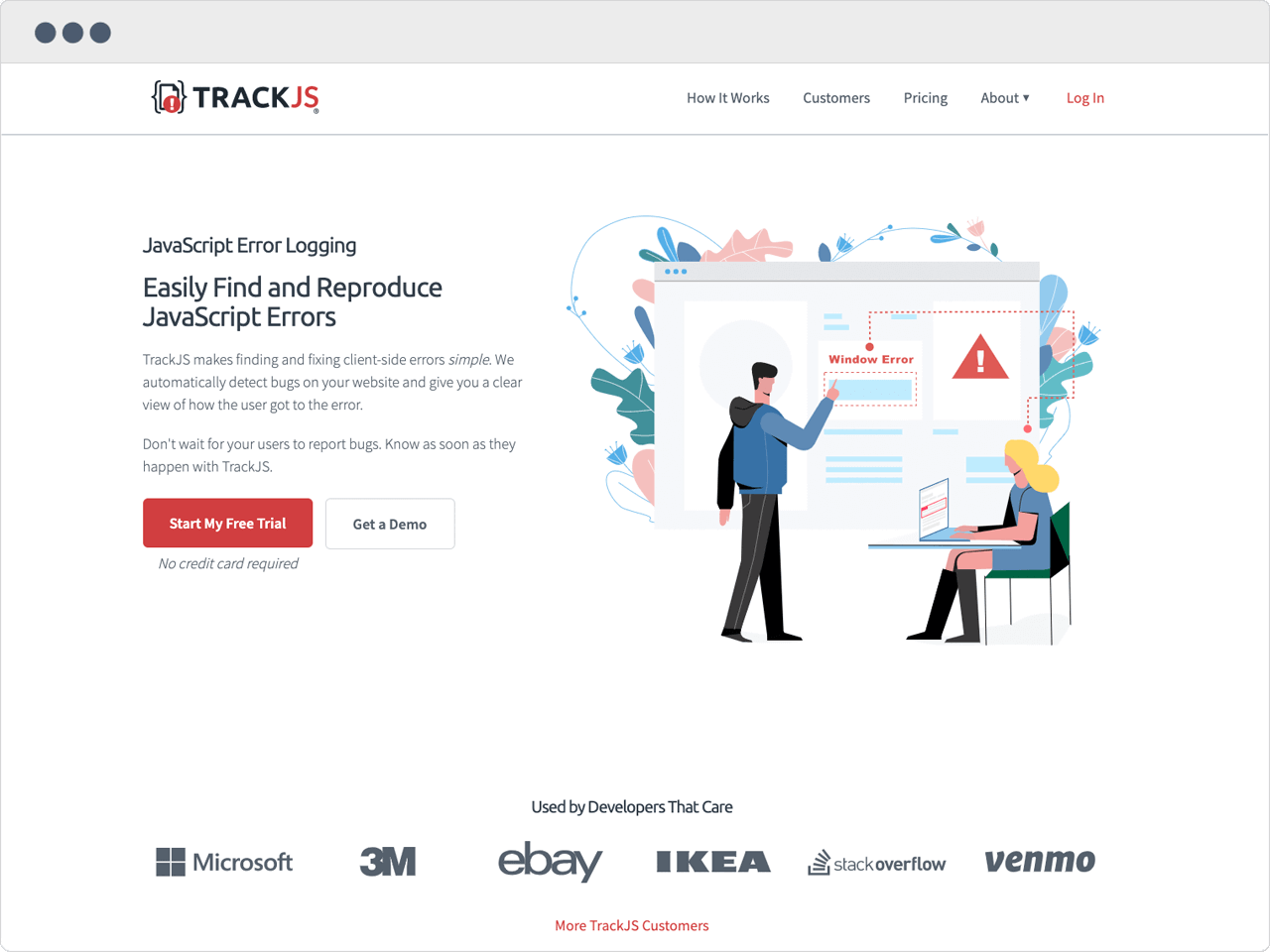 The New TrackJS Website